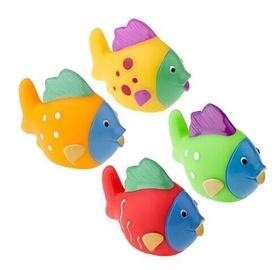 Tullo Rubber Fish For Bathing 4pcs