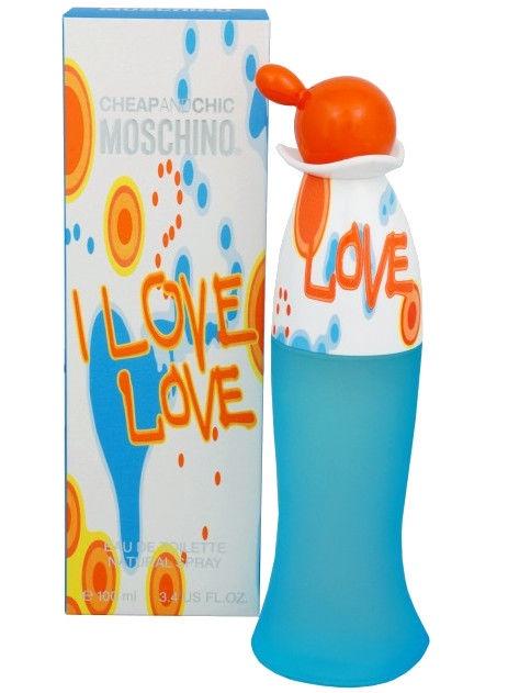 Tualetes ūdens Moschino I Love Love 100ml EDT