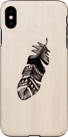 Man&Wood Indian Back Case For Apple iPhone X/XS Beige