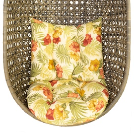 Home4you Cora Hanging Chair Pillow Flowers