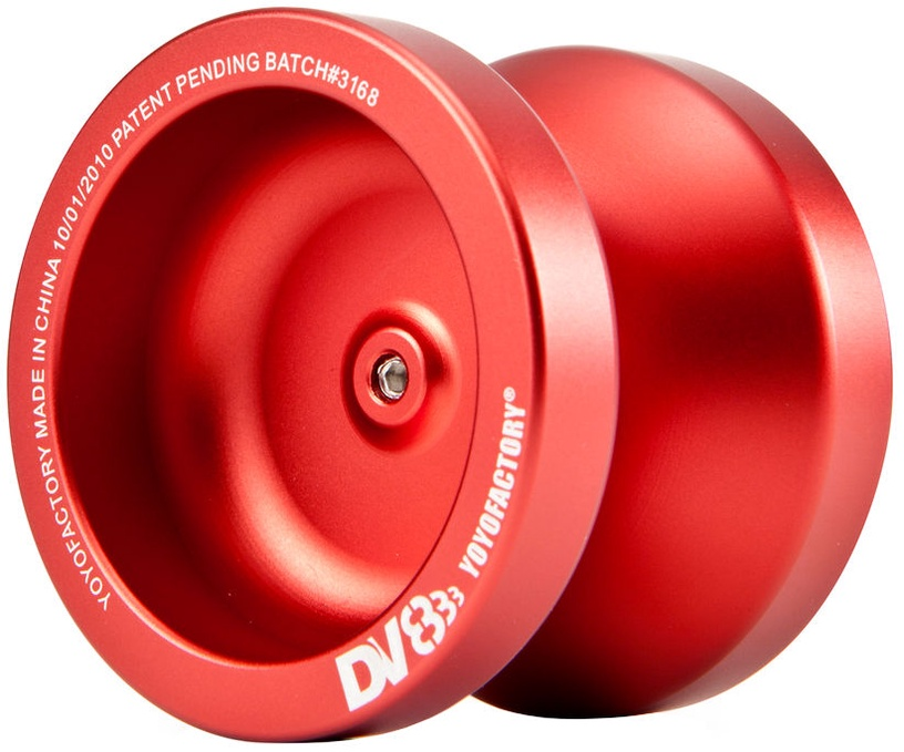 YoYoFactory DV888 Metal Red