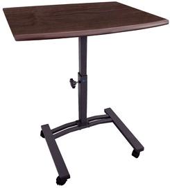 Tatkraft Laptop Stand Desk Black/Brown