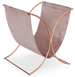 Homede Lexi Magazine Holder 31x38.5x32cm Pink