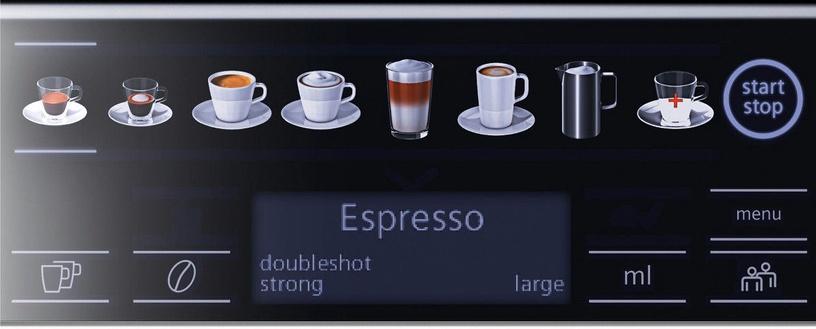 Kafijas automāts Siemens TE655319RW