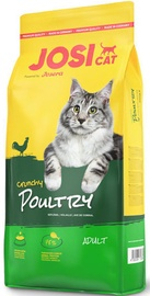 Sausā kaķu barība Josera JosiCat Crunchy Poultry 18kg