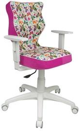 Bērnu krēsls Entelo Duo ST31 White/Pink, 400x370x1000 mm