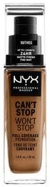 Tonizējošais krēms NYX Can't Stop Won't Stop CSWSF16.5 Nutmeg, 30 ml