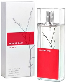 Tualetes ūdens Armand Basi In Red 100ml EDT
