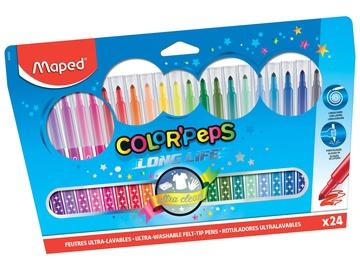Фломастер Maped Color Peps, односторонние, 24 шт.