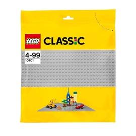 Конструктор Constructor LEGO Classic Серая базовая пластина 10701