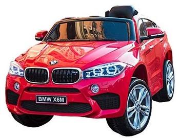 Оригинальный красный электромобиль BMW X6M 2199 с пультом ДУ