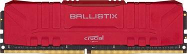 Operatīvā atmiņa (RAM) Crucial Ballistix Red DDR4 8 GB CL15 3000 MHz