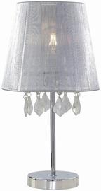 Light Prestige Mona 60W E27 Small Desk Lamp White