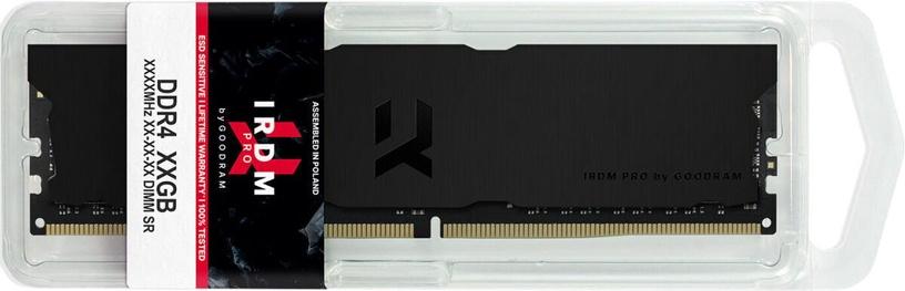 Operatīvā atmiņa (RAM) Goodram IRDM PRO Deep Black DDR4 8 GB CL18 3600 MHz