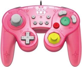 Игровой контроллер Hori Battle Pad GameCube Style Peach
