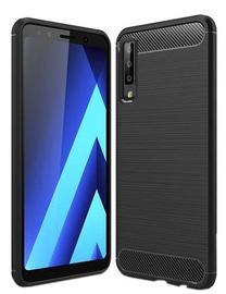 Hurtel Carbon Back Case For Samsung Galaxy A7 A750 Black