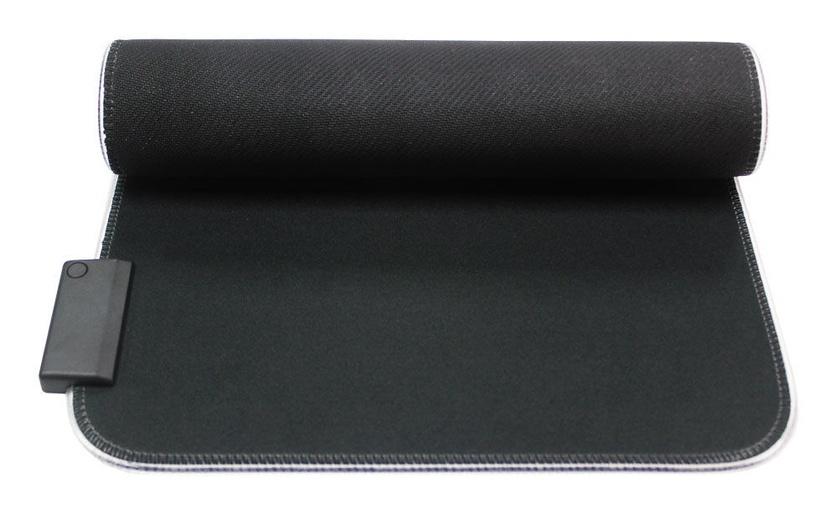 Qpad FLX100 M RGB Mouse Pad 370x270mm Black