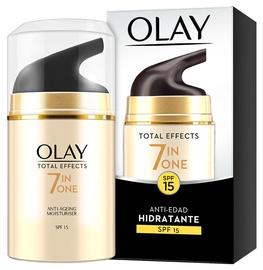 Sejas krēms Olay Total Effects Anti Ageing 7in1 Moisturiser SPF15, 50 ml