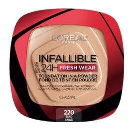 Pūderis L´Oréal Paris Infallible 220 Sand P, 9 g