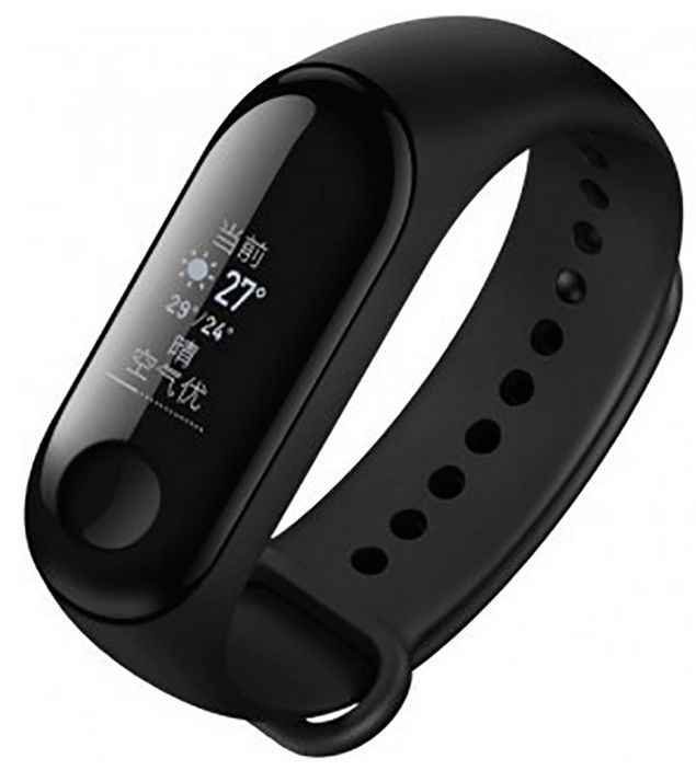 Fitnesa aproce Xiaomi Mi Band 3, melna