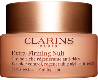Sejas krēms Clarins Extra-Firming Night Cream Dry Skin, 50 ml