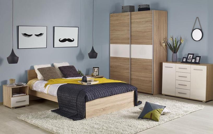 Кровать Halmar Lima Sonoma Oak, 205x125 см