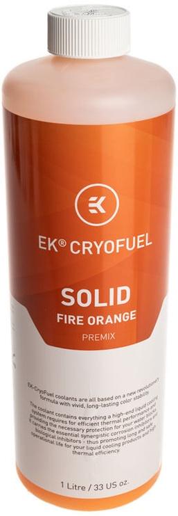 EK Water Blocks EK-CryoFuel Solid Fire Orange (Premix 1000mL)