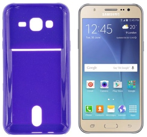 Roar Pocket Jelly Case For Samsung J500F Galaxy J5 Violet