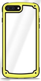 Hurtel Solid Frame With Bumper For Samsung Galaxy A7 A750 Yelow