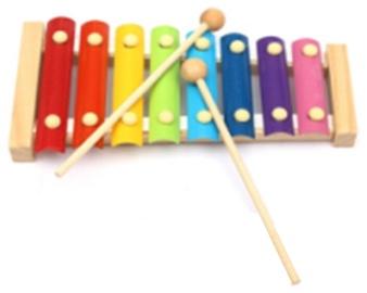 Ksilofons Educational Wooden Xylophone