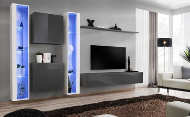 ASM Switch XVI Wall Unit Graphite/White