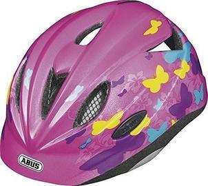 Abus Rookie Helmet Butterfly Pink S
