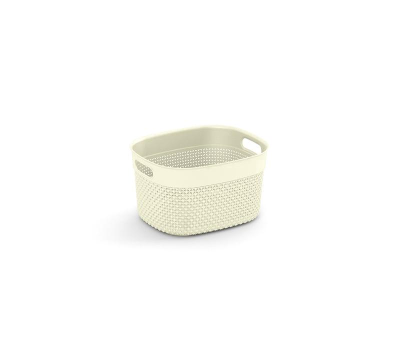 KIS Filo Storage Basket 6l White
