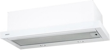 Iebūvēts tvaika nosūcējs Akpo WK-7 Light Eco Glass 60 White
