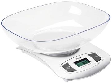 Elektroniski virtuves svari Sencor SKS 4001WH, balta