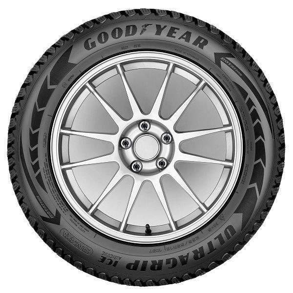 Зимняя шина Goodyear UltraGrip Ice Arctic SUV, 235/60 Р18 107 T XL, шипованная