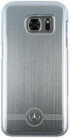 Mercedes Pure Line Aluminium Back Case For Samsung Galaxy S7 Grey