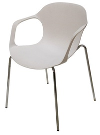 Ēdamistabas krēsls Verners Leche White, 1 gab.