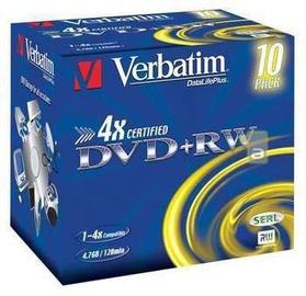 Verbatim DVD+RW/4x/JEWEL