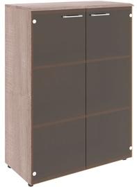 Skyland Wave WMC 85.2 Office Cabinet Sonoma Oak/Dark Wood