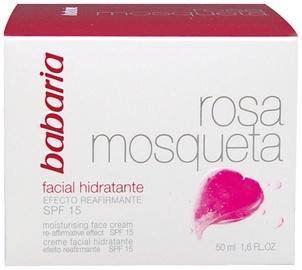 Крем для лица Babaria Rosehip Moisturising Face Cream 24h SPF15, 50 мл