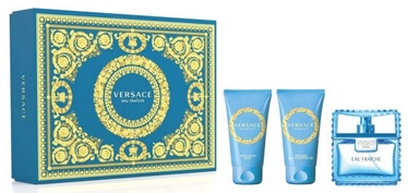 Komplekts vīriešiem Versace Man Eau Fraiche 3pcs Set 150 ml EDT