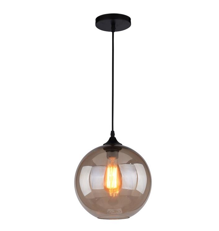 Gaismeklis Force Lighting MD71411-1 40W E27 Black/Brown