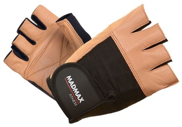 Mad Max Fitness Gloves Brown Black S