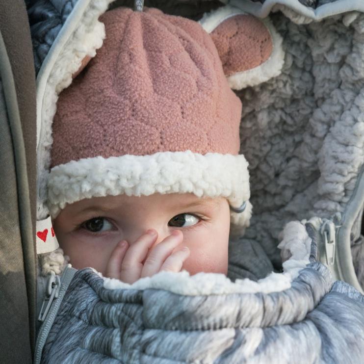Lodger Baby Fleece Hatter BotAnimal Plush 3-6