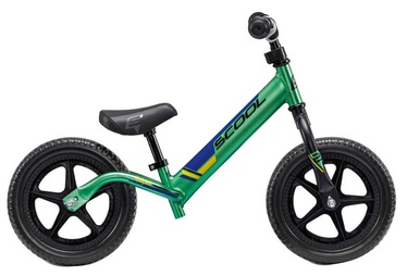 "Līdzsvara velosipēds Scool PedeX Race Light 10"" Green Black"