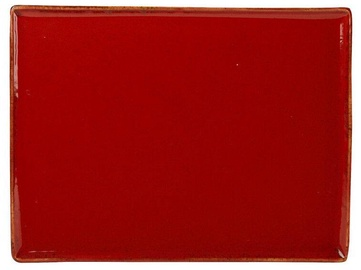 Porland Seasons Serving Plate 27.2x21cm Red