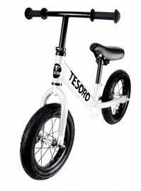 Tesoro PL-12 Balance Bike White Matt