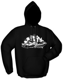 GamersWear Double Team Hoodie Black S