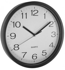 Asi Collection Wall Clock 31cm Black